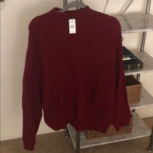 Express chunky knit sweater